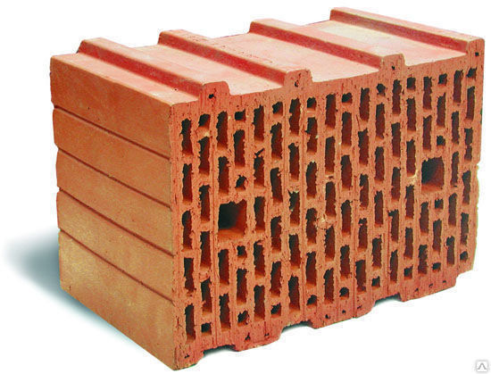 Кирпич ШАДЕИ Рядовой пустотелый одинарный (250x120x65) - фото 1