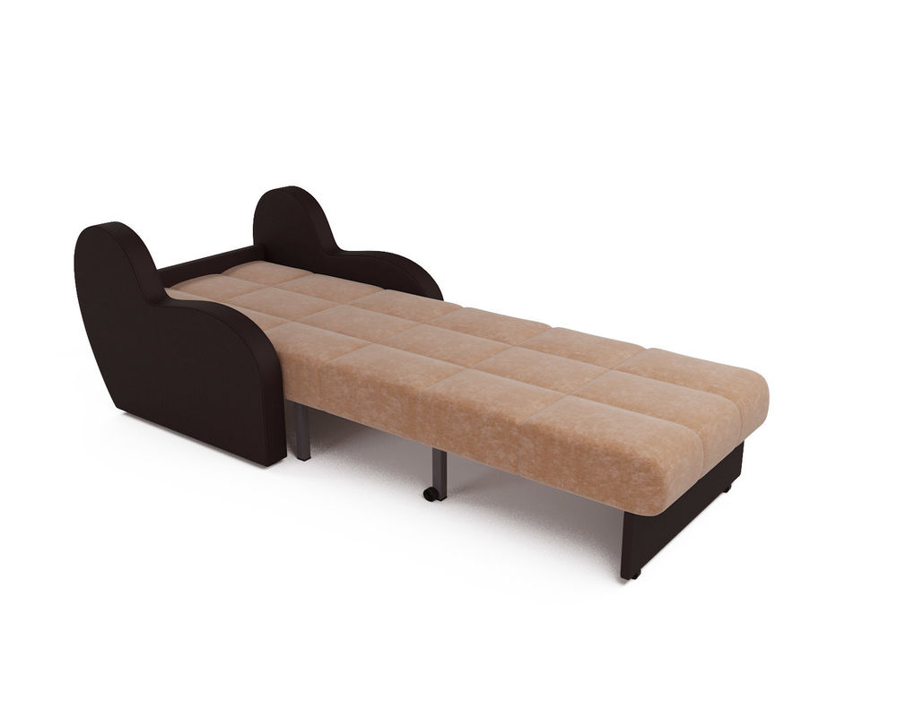 Кресло Мебель-АРС Аккордеон Барон кордрой (микровелюр + экокожа) - фото 6