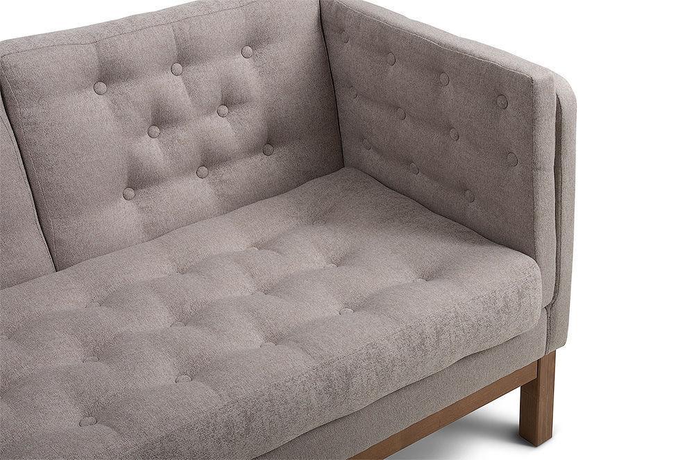 Диван Woodcraft Айверс Textile Beige (прямой) - фото 8