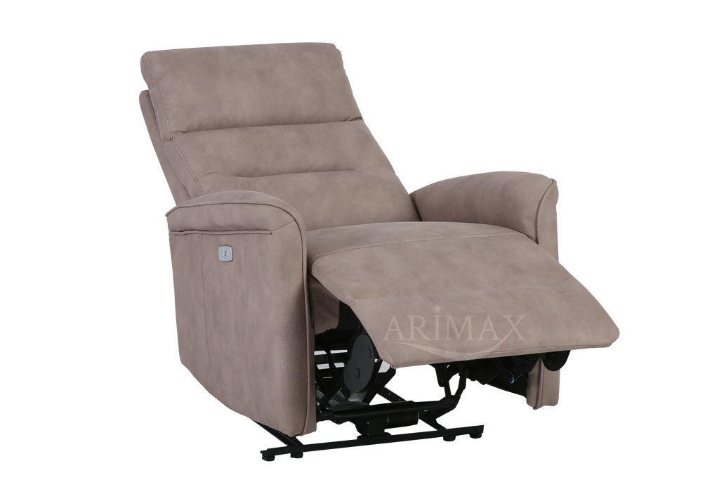 Кресло Arimax Dr Max DM02002 (Светло-коричневый) - фото 4