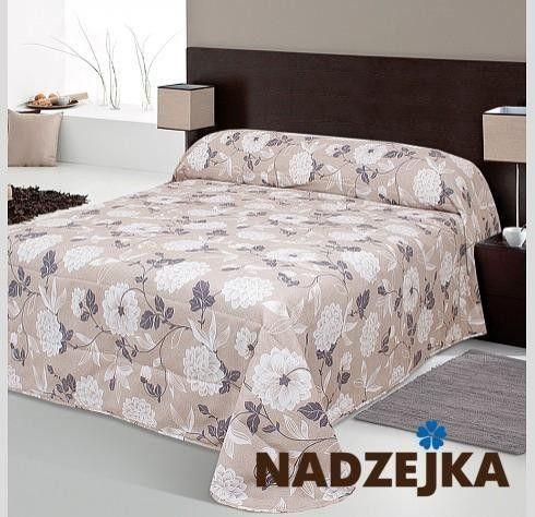Покрывало Nadzejka Мелиса (двуспальный) коричневый - фото 3