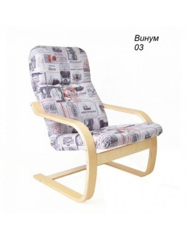 Кресло Impex Сайма ткань (Vinum03) - фото 1