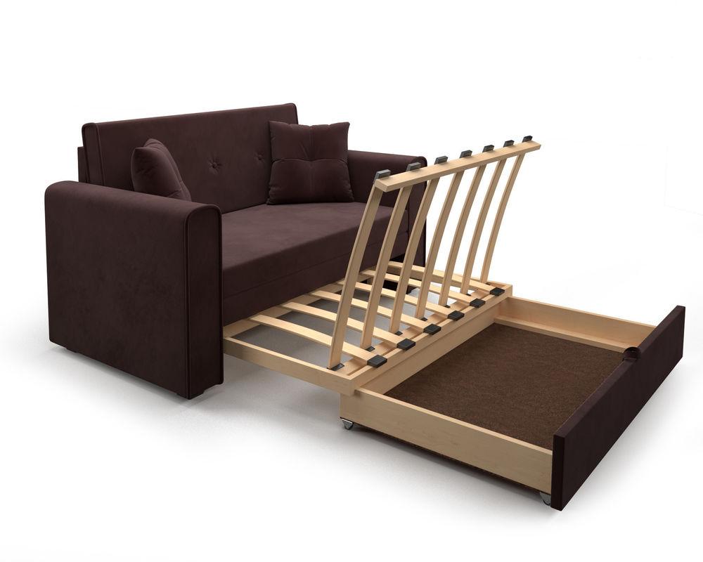 Диван Мебель-АРС Санта (велюр шоколадный / НВ-178/16) - фото 6