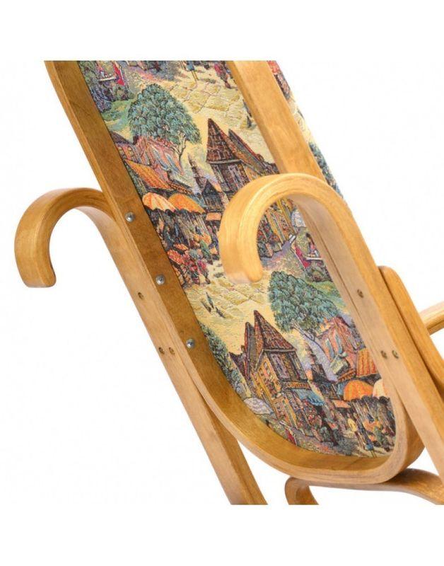 Кресло Impex Лондон светлый орех (Городок) - фото 6