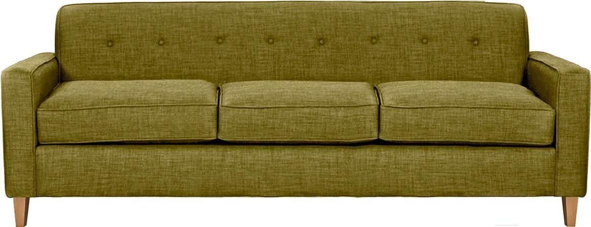 Диван Brioli Берн трехместный Classic Plain 7 - фото 1