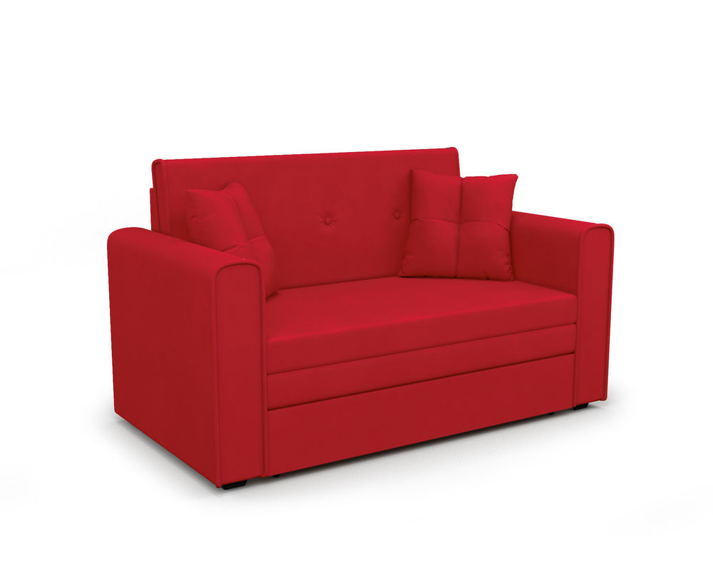 Диван Мебель-АРС Санта (кордрой красный) - фото 1
