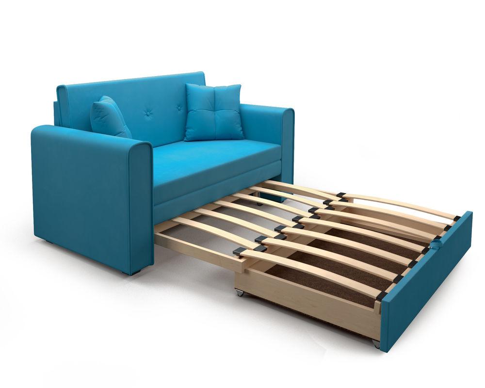 Диван Мебель-АРС Санта (синий) - фото 5
