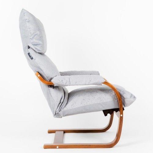 Кресло Greentree Онега вишня/ткань Лазурь - фото 3