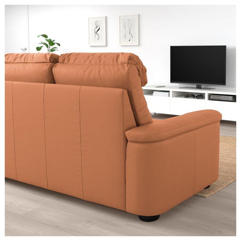 Диван IKEA Лидгульт золотисто-коричневый [892.661.62] - фото 4
