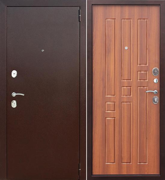 Входная дверь Гарда Гарда 8 мм Рустикальный дуб - фото 1