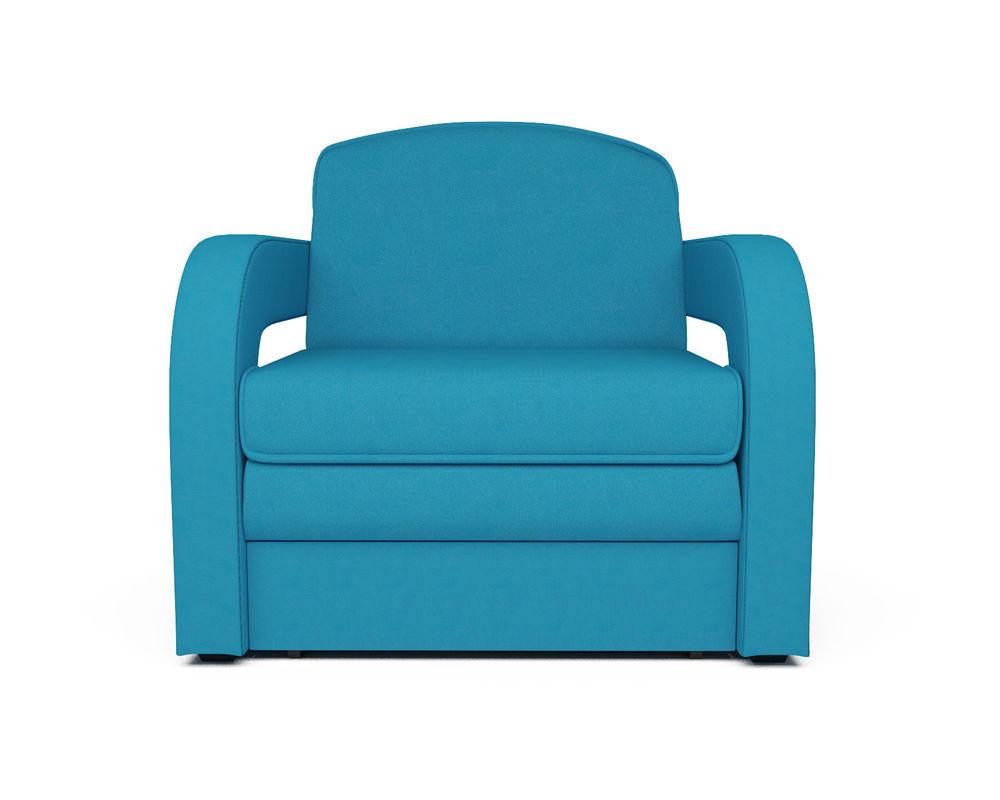 Кресло Мебель-АРС Кармен-2 синий (рогожка) - фото 2