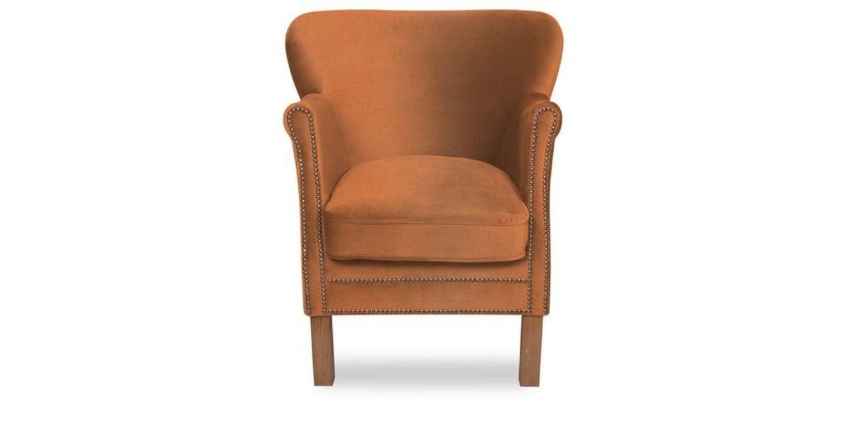 Кресло WOWIN Голден (Бледно-лососевый велюр) - фото 2