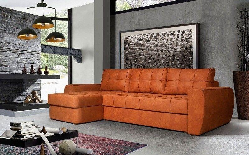 Диван Калинковичский мебельный комбинат Лондон угловой КМК 0616 Loft 3 (группа ткани 2) - фото 2
