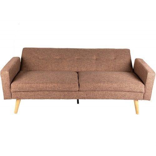 Диван Альта Мебель Bjorn (Бьёрн) светло-коричневый - фото 3