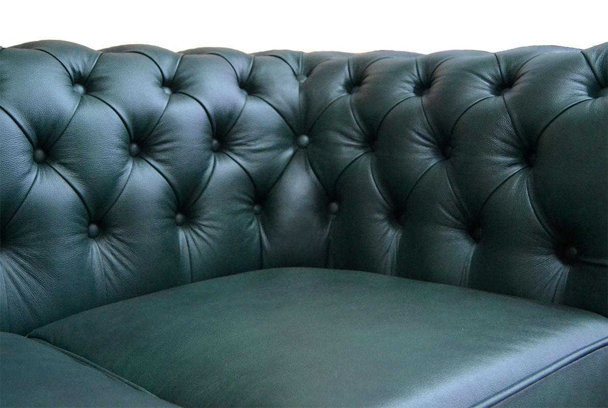 Диван Tiolly Честерфилд 3 (коричневый) - фото 7