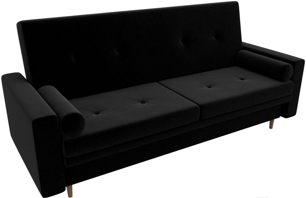 Диван Mebelico Белфаст 100594 микровельвет черный - фото 2