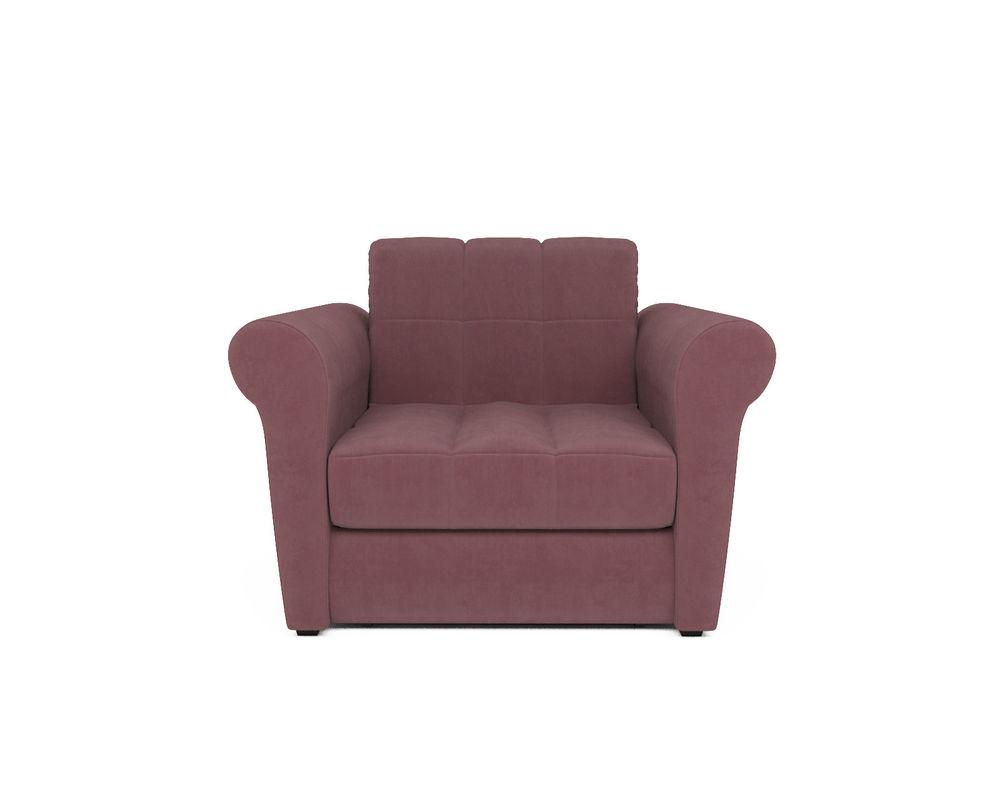 Кресло Мебель-АРС Гранд пудра велюр (НВ-178/18) - фото 2