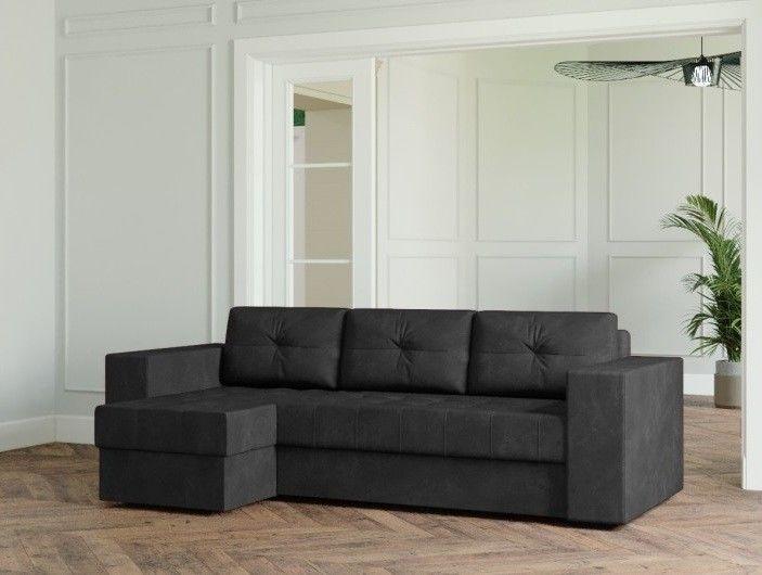 Диван Настоящая мебель Ванкувер Лайт (модель 00-00003480) серый - фото 1