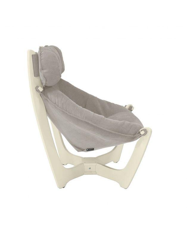 Кресло Impex Модель 11 verona сливочный (Antrazite grey) - фото 4
