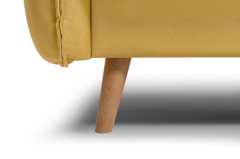 Диван Woodcraft Стаус Velvet Yellow - фото 11