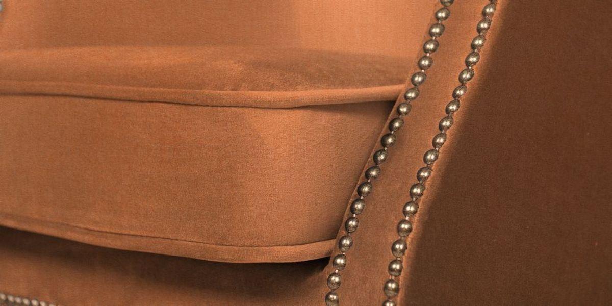 Кресло WOWIN Голден (Бледно-лососевый велюр) - фото 7