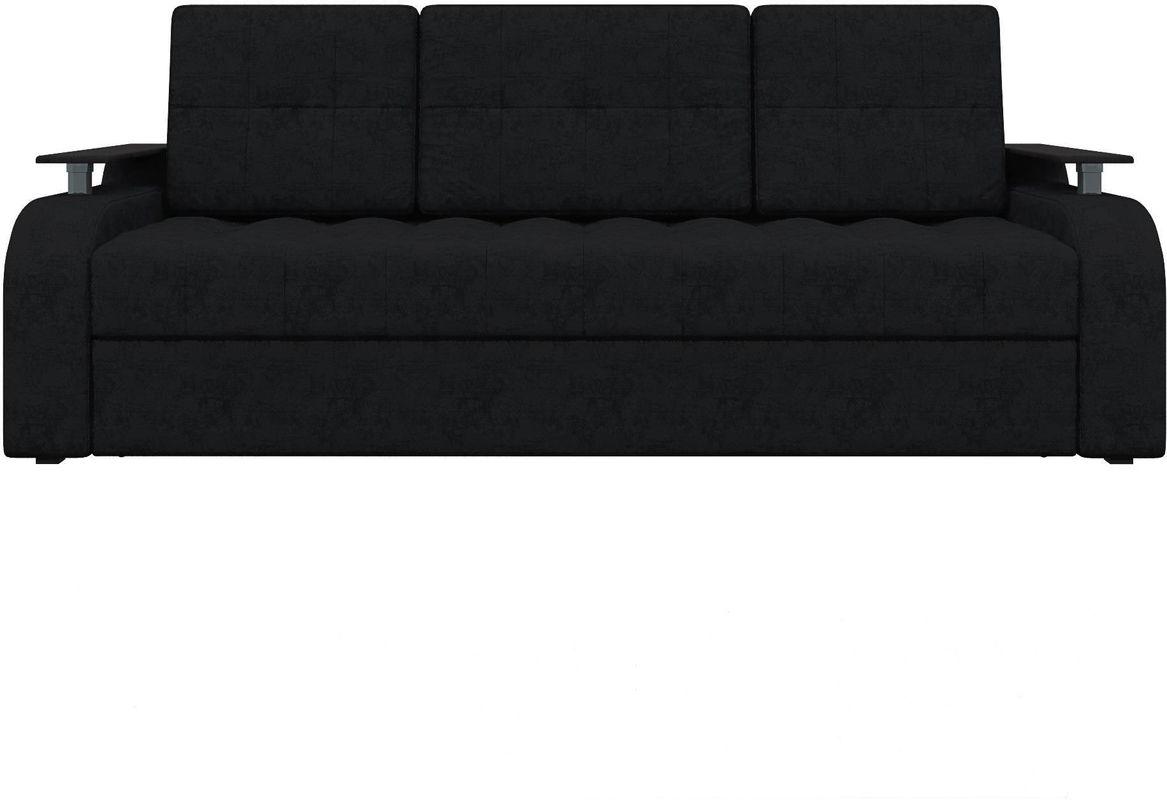 Диван Mebelico Ричард 483 вельвет черный - фото 1