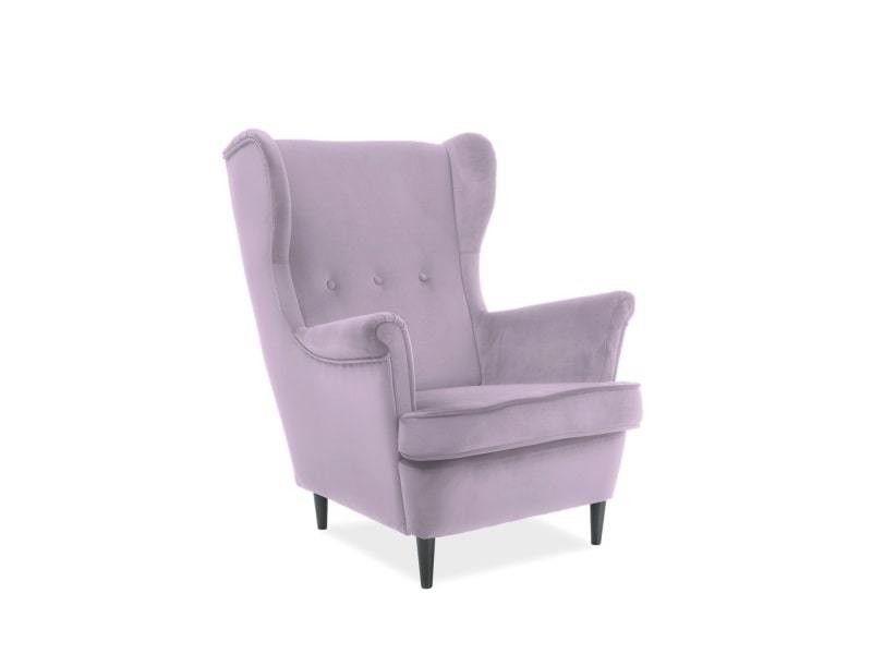 Кресло Signal LORD Velvet Bluvel 52 (античный розовый) LORDV52 - фото 1