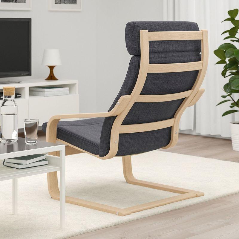 Кресло IKEA Поэнг 792.867.64 - фото 3