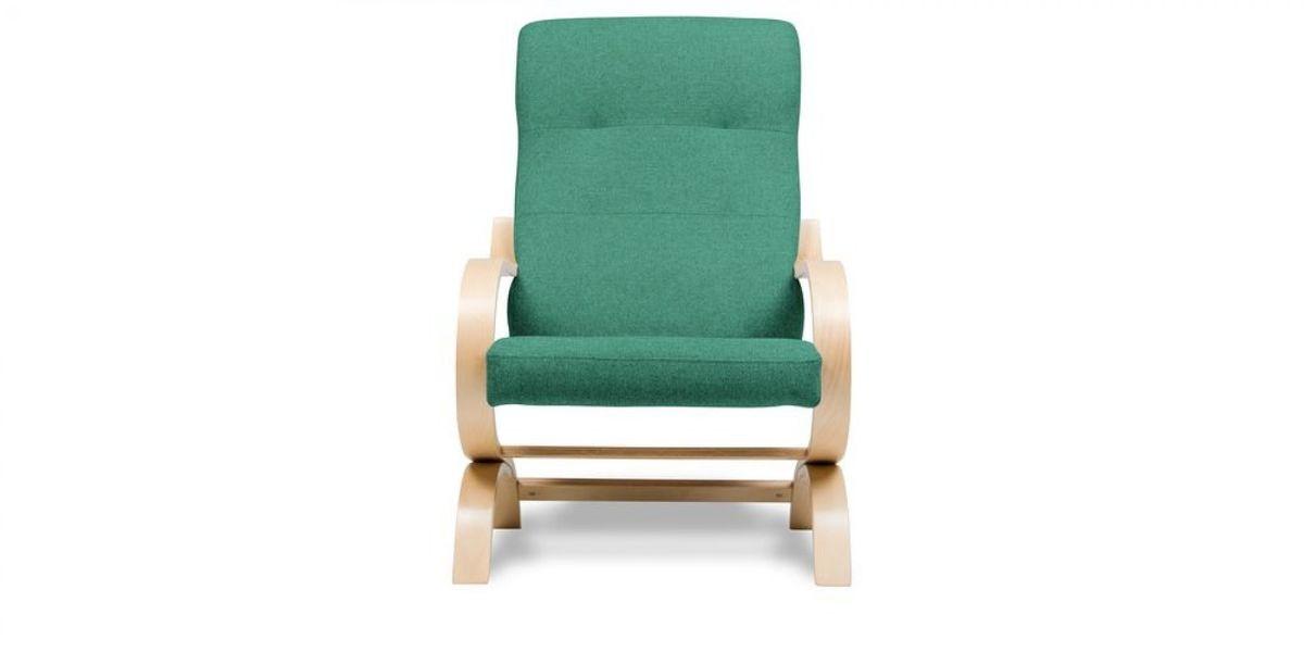 Кресло WOWIN Вейв (Бирюзово-голубая микророгожка) - фото 2