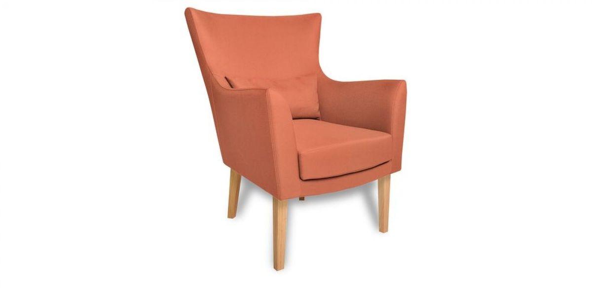 Кресло WOWIN Элеганза (Терракотовый велюр) - фото 1