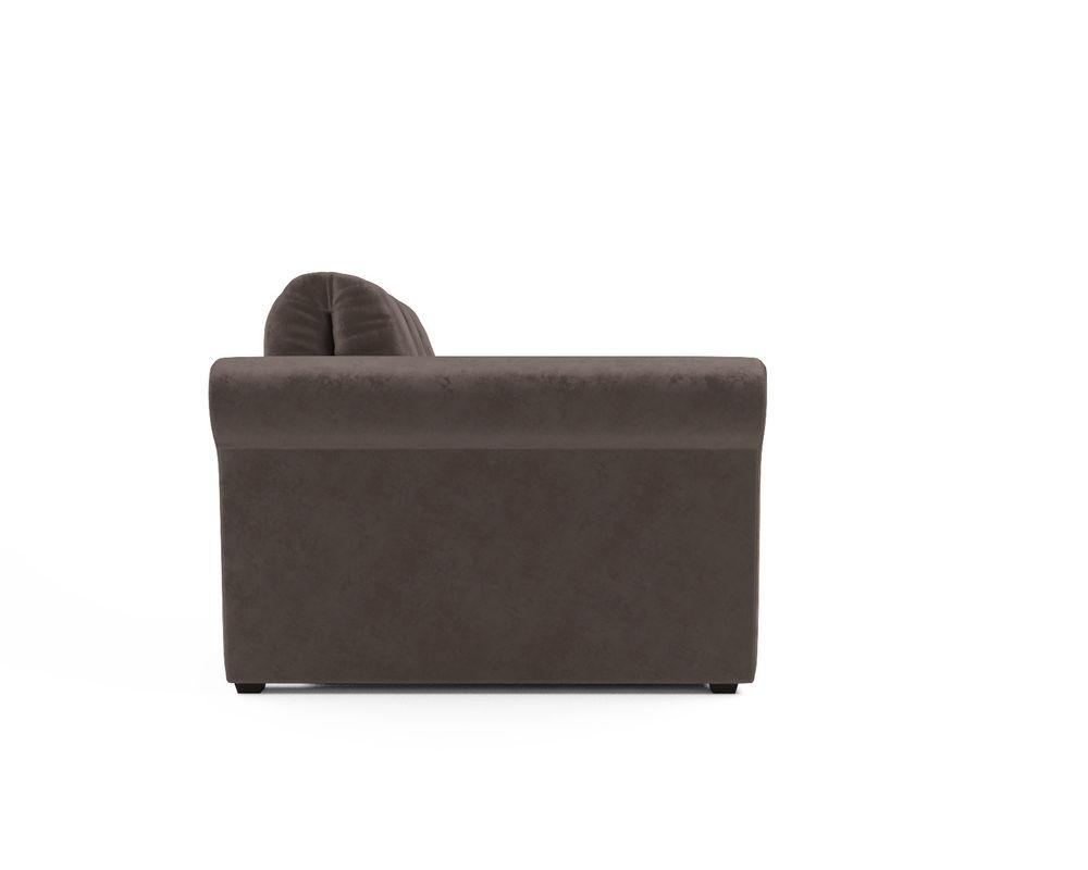 Кресло Мебель-АРС Гранд (бархат серо-шоколадный) - фото 3