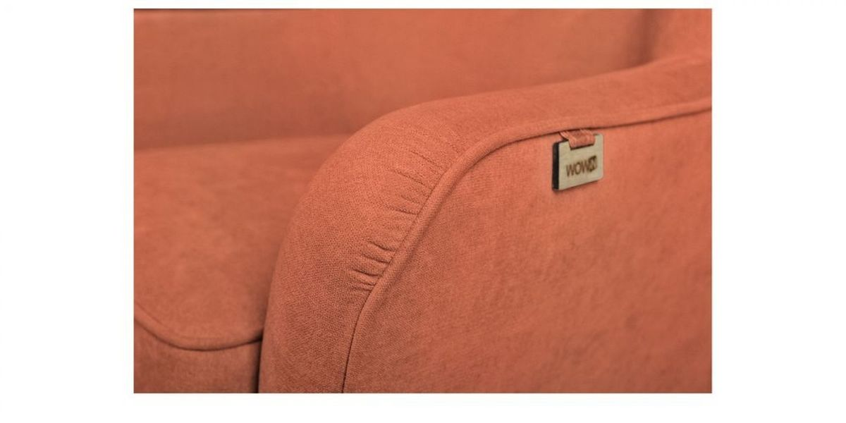 Кресло WOWIN Нуар (Терракотовый велюр) - фото 3