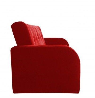 Диван Луховицкая мебельная фабрика Марсель (велюр красный) 140x190 - фото 4