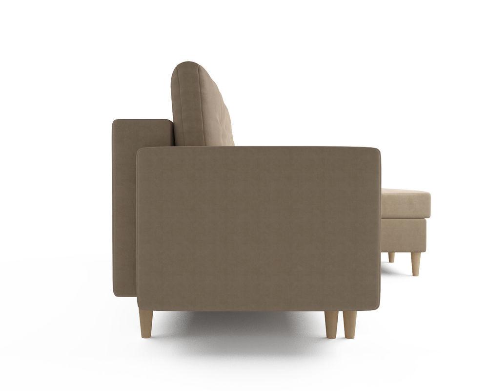 Диван Мебель-АРС Белфаст (рогожка бежевая) - фото 3