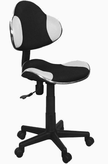 Офисное кресло Signal Q-G2 черно-белый (экокожа) - фото 1