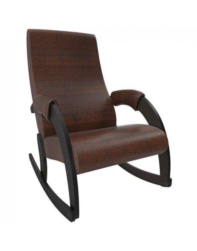 Кресло Impex Модель 67M  Экокожа (vegas lite black) - фото 2