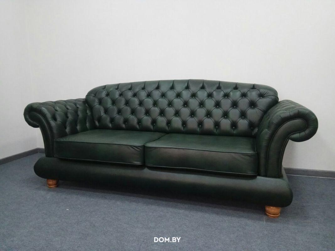 Диван Tiolly Гранд-Честер (серый) - фото 7
