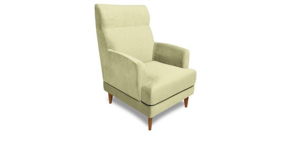 Кресло WOWIN Айленд (Серо-бежевая микророгожка) - фото 1