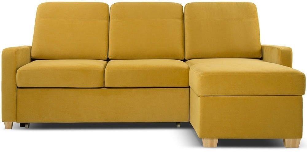Диван Woodcraft Модульный Гувер-2 Velvet Yellow (уцененный) - фото 1