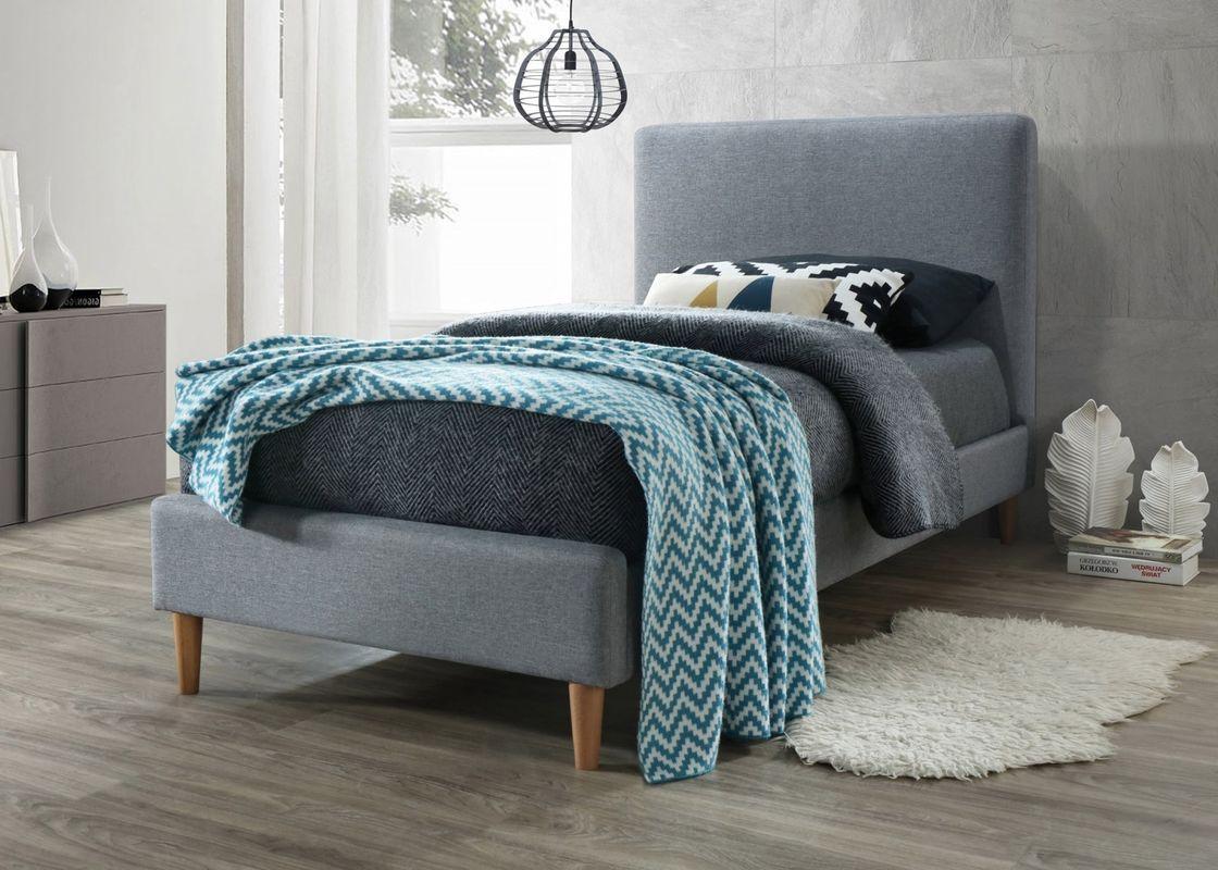 Кровать Signal ACOMA 90 (серый/дуб) - фото 1