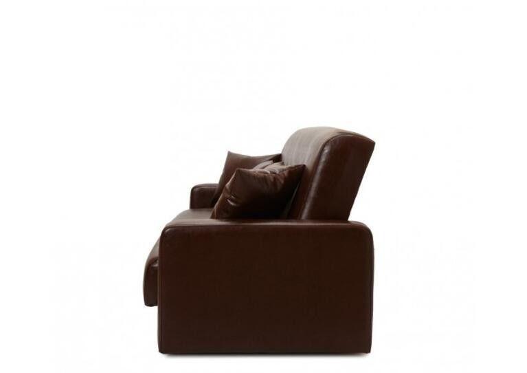 Диван Craftmebel Аккорд коричневая экокожа - фото 3