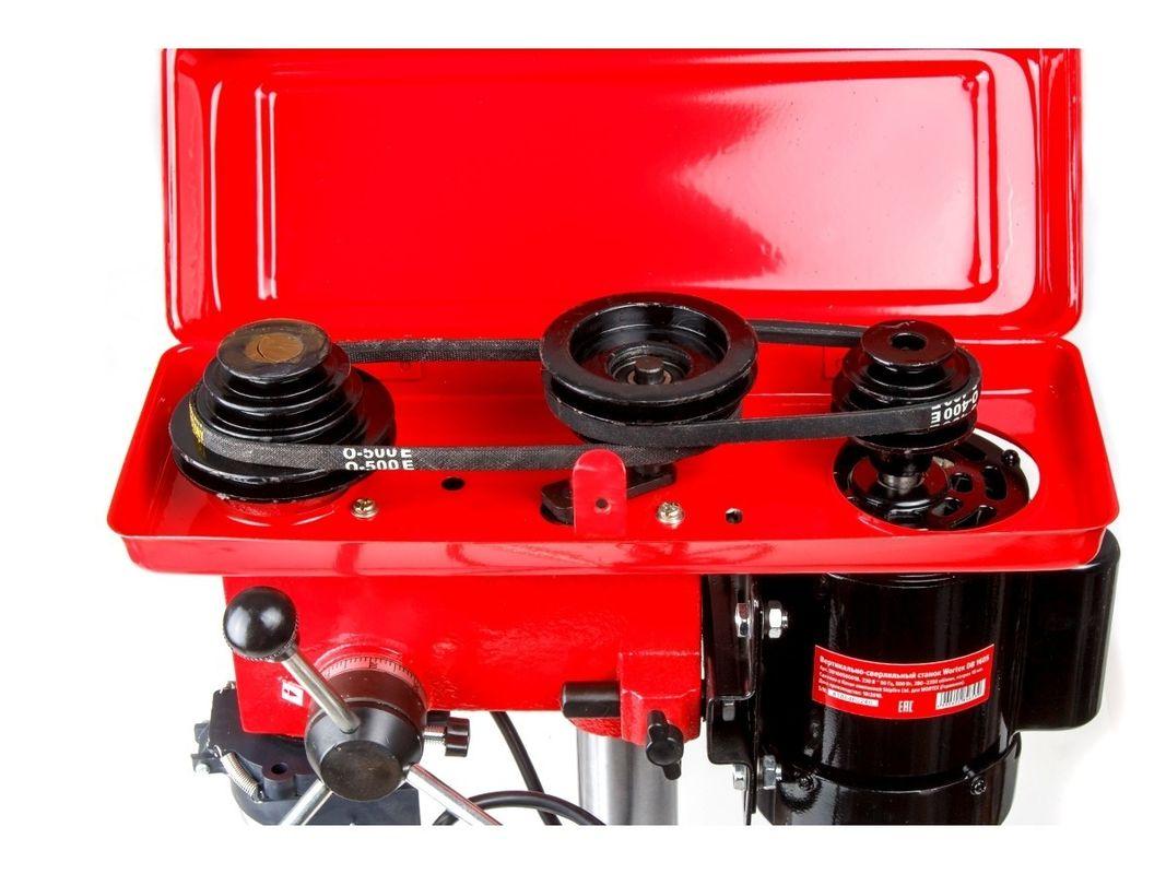 WORTEX DB 1605 (500 Вт, сверление в металле до 16 мм, 9 скор., патрон 16 мм) (DB160500018) - фото 5