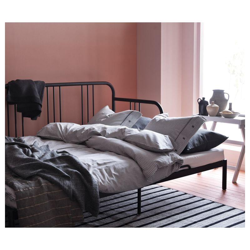 Диван IKEA Кушетка с 2 матрасами Фиресдаль черный [592.792.98] - фото 16
