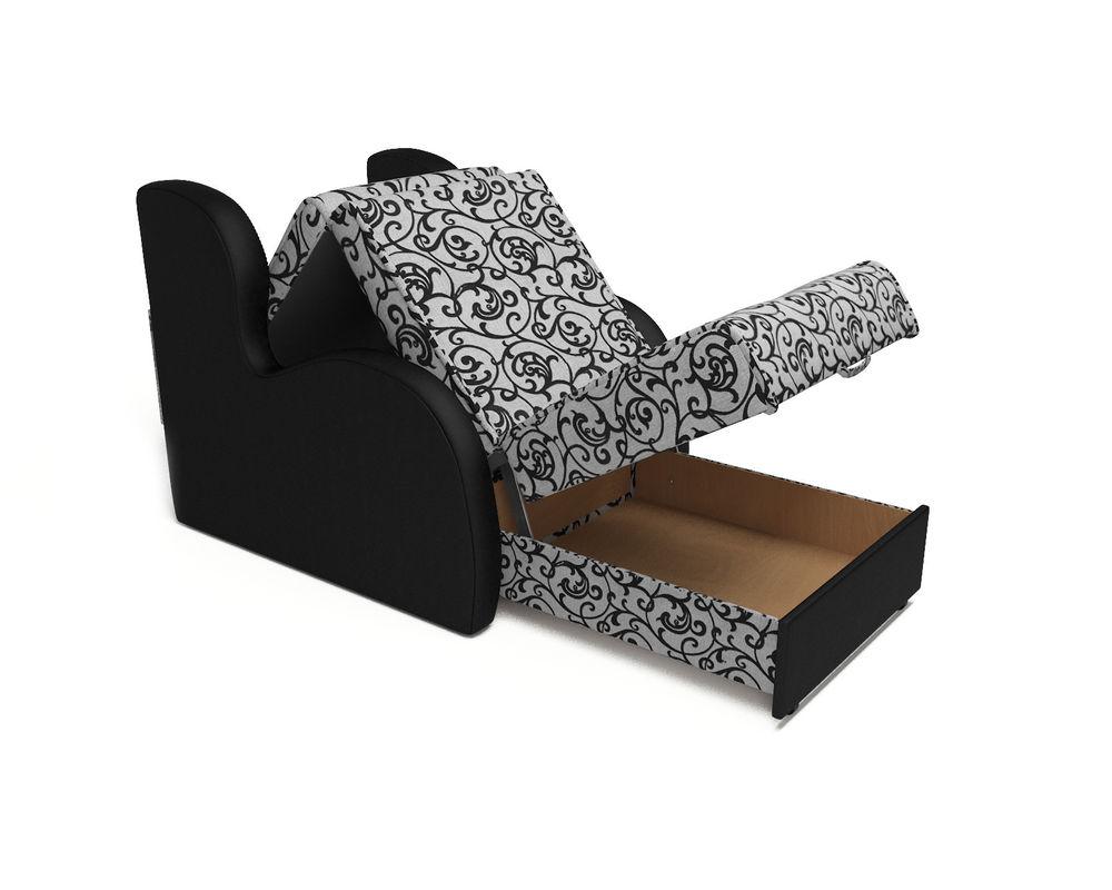 Кресло Мебель-АРС Атлант - Кантри (рогожка + экокожа) - фото 5