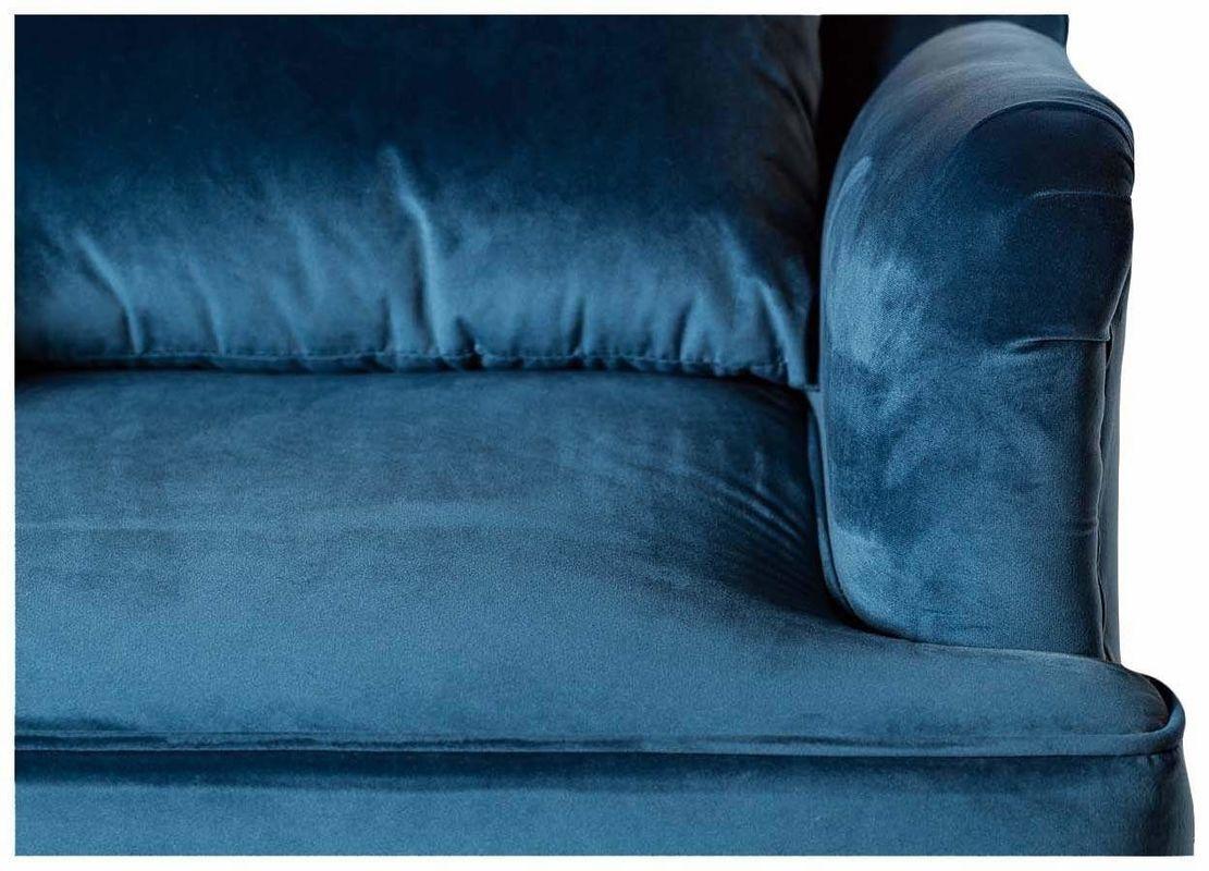 Кресло Garda Decor Кресло для гостиной Garda Dеcor 24YJ-7004-06466/1 GRD_TT-00000098, синий - фото 3