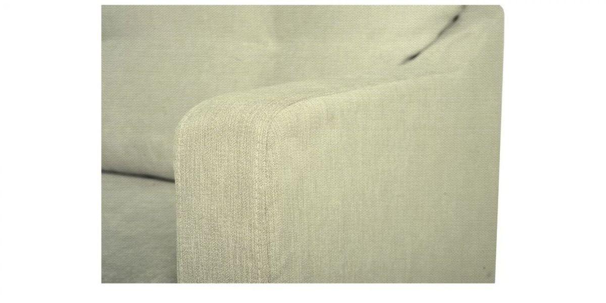 Кресло WOWIN Полар (Молочный велюр) - фото 4