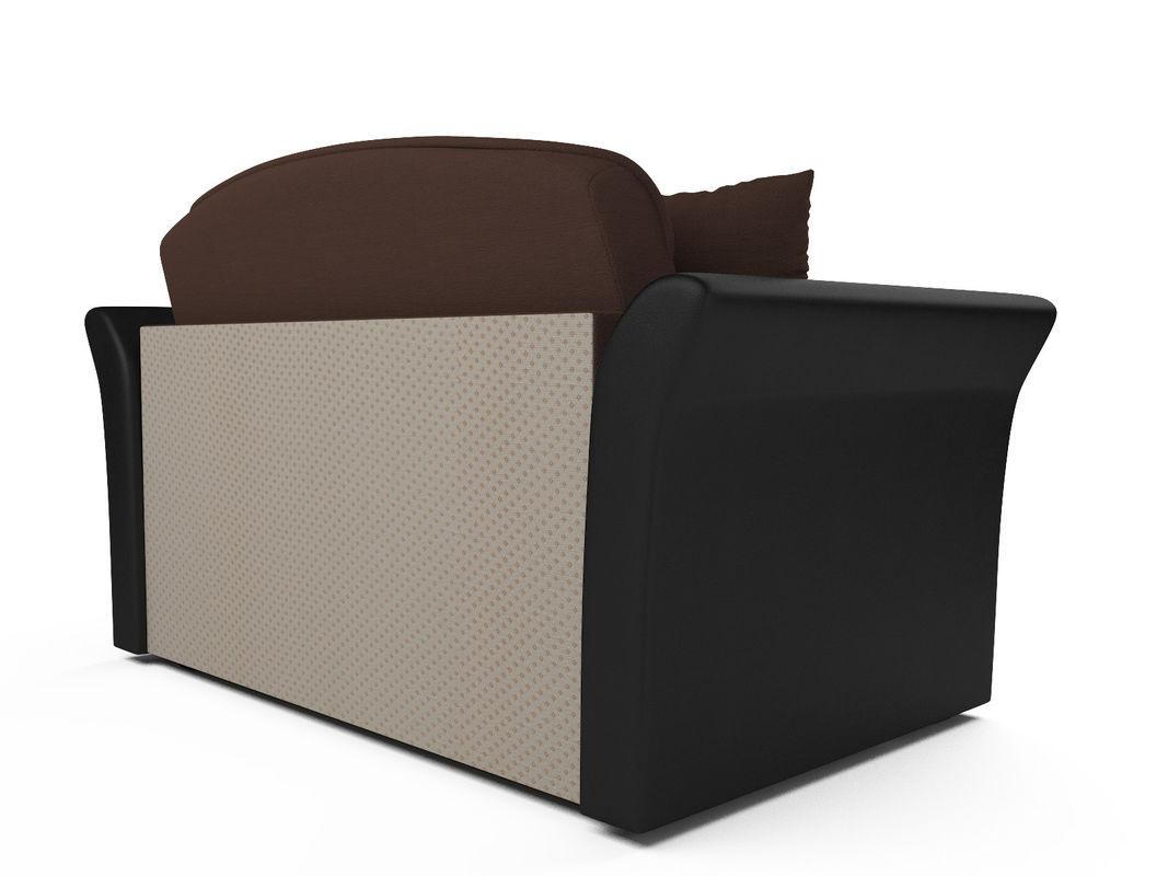 Диван Мебель-АРС Малютка №2 (рогожка шоколад) - фото 3