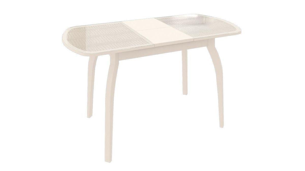 Обеденный стол ТриЯ Ницца 2 раздвижной на деревянных ножках - фото 11