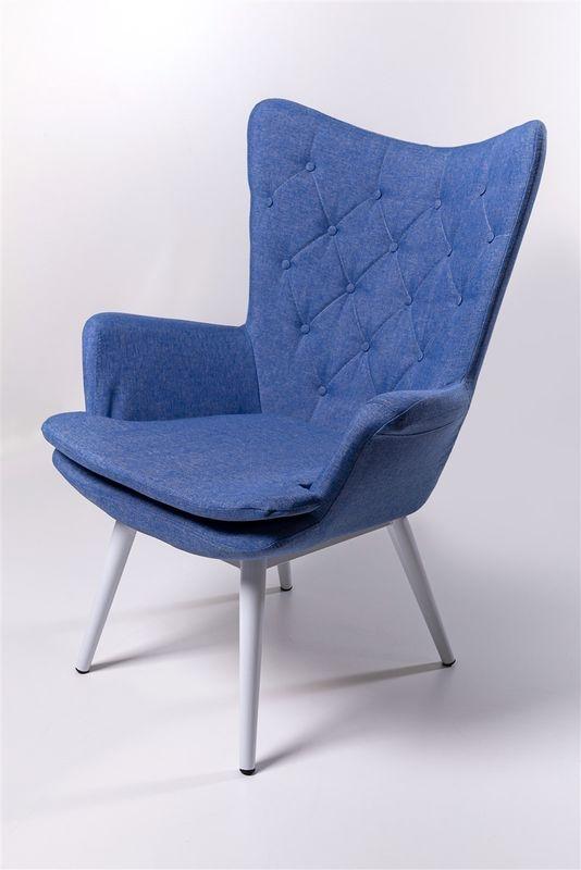 Кресло ФорестДекоГрупп Афакан (синий) AFAKAN-BL - фото 2