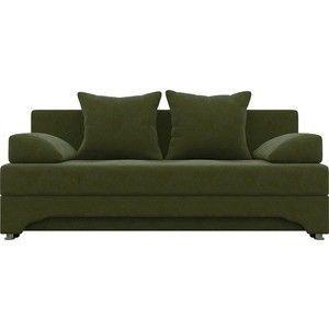 Диван АртМебель Ник-2 микровельвет зеленый - фото 2